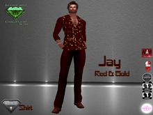 EC Jay Red & Gold