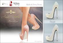 Amacci Shoes - Brooklyn - Pearl (Maitreya, Slink, Belleza)