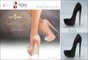 Amacci Shoes - Brooklyn - Black (Maitreya, Slink, Belleza)