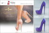 Amacci Shoes - Brooklyn - Purple (Maitreya, Slink, Belleza)
