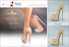 Amacci Shoes - Brooklyn - Nude (Maitreya, Slink, Belleza)