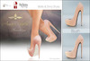Amacci Shoes - Brooklyn - Blush (Maitreya, Slink, Belleza)