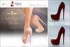 Amacci Shoes - Brooklyn - Bordeaux (Maitreya, Slink, Belleza)