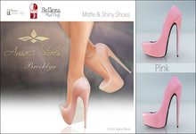 Amacci Shoes - Brooklyn - Pink (Maitreya, Slink, Belleza)