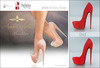 Amacci Shoes - Brooklyn - Red (Maitreya, Slink, Belleza)