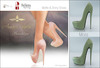 Amacci Shoes - Brooklyn - Moss (Maitreya, Slink, Belleza)