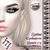 !IT! - Satine Eyeshadows DEMO's 1-9