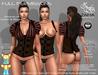 Steampunk corset   blouse belleza