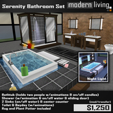Serenity Bathroom Set (Packaged)