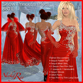 Nicky Ree Gowns - Snow Princess (Red)