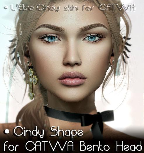 .::Nanika::. Cindy Shape for CATWA Bento Head Catya ~ PROMO