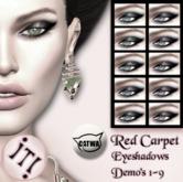 !IT! - Red Carpet Eyeshadows DEMO's 1-9
