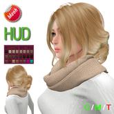 "eeDeLsToRe woman mesh hair "" Hella "" incl 24 color HUD"
