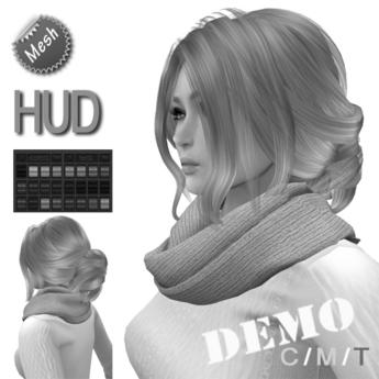 """DEMO eDeLsToRe woman mesh hair """" Hella """" please try me"""