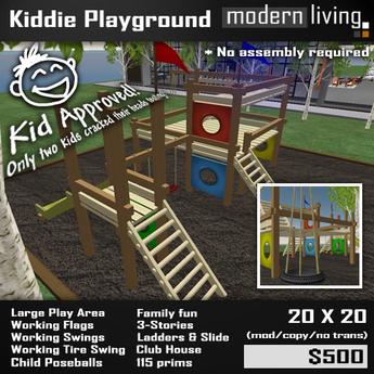 Kids Playground (Playground-in-a-box)