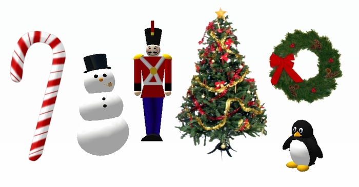 Second Life Marketplace Free Christmas Decorations