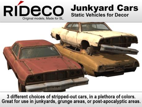 RiDECO - Scrap Car