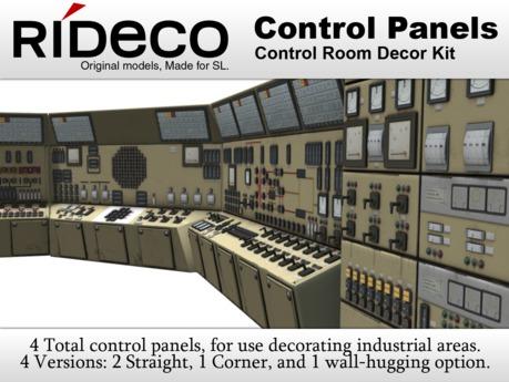 RiDECO - Control Panels Kit