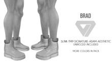 ILLI - [SLink,Signature Gianni,MeshProject Men,Aesthetic,Adam] Brad Work Boots DEMO