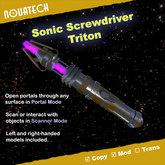 Sonic Screwdriver, Triton