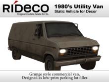 RiDECO - 1980's Van