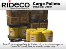 RiDECO - Cargo Pallets