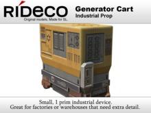 RiDECO - Generator Cart