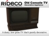 RiDECO - Old Console TV
