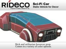 RiDECO - Sci-Fi Car