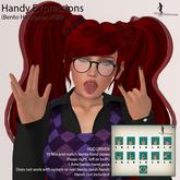 *~*HopScotch*~* Handy Expressions (Bento Hand pose HUD)