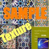 Full Perm Moorish Tile Textures