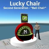 Lucky Chair (retro 60's-style Ball Chair)