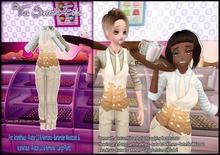 T7E: Cake Cake Cake! Waistcoat Mod (Cream)