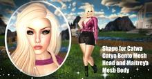 Shape for Catwa Catya Bento Mesh Head and Maitreya Mesb Body v2