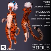 [b] Kemono Tiger - Orange
