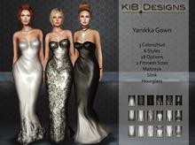 KiB Designs - Yanikka Gown FATPACK