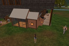 lg mesh chicken house