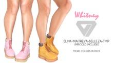 ILLI - [SLink,TMP,Maitreya,Belleza] Whitney Work Boots (HUD Driven)
