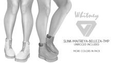 ILLI - [SLink,TMP,Maitreya,Belleza] Whitney Work Boots DEMO