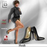 Baboom-Highheels HEIDI_  black