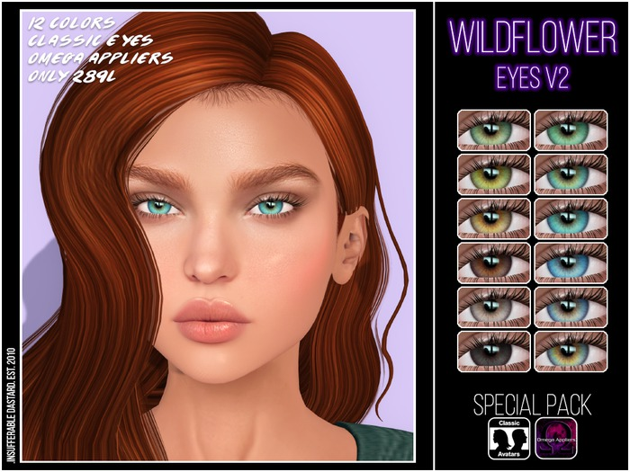.ID. Wildflower Eyes v2 Special Pack