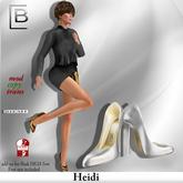 Baboom-Highheels HEIDI_ white