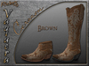 Riders - Vaquera Boots - Corazon Brown - Cowboy / Cowgirl Boots