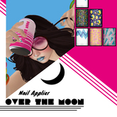 Over the Moon: 90s patterns (Omega Nail Appliers)