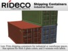 RiDECO - Shipping Container