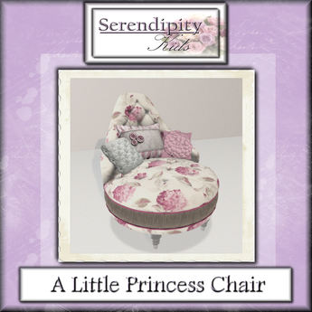 Serendipity Kids - A Little Princess Chair