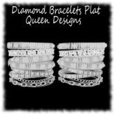 Diamond Bracelets Plat
