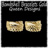 Bombshell Bracelets Gold