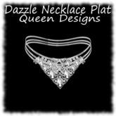 Dazzle Necklace Plat