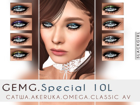 ::SG:: GEMG Shadow for Akeruk.Catwa.OMEG  & Classic AV( Wear Me)